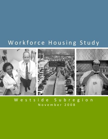 Workforce Housing Study - Westside Cities Council of Governments