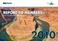 Report to Members & insert December 2010