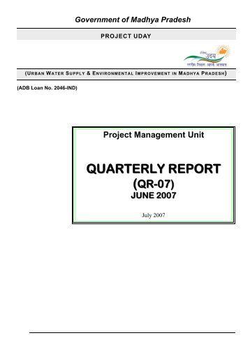 Government of Madhya Pradesh - Project Uday