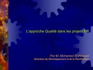 La qualité dans les projets EnR - RIAED