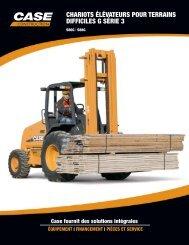 chariots élévateurs pour terrains difficiles g série 3 - Case Construction