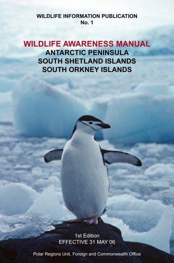Wildlife Awareness Manual - Environmental Research & Assessment