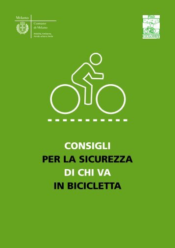 consigli per la sicurezza di chi va in bicicletta - Comune di Bubbiano