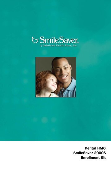 Plan 2000S - Dental Alternatives Insurance Services Inc