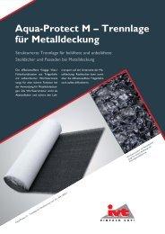 Aqua-Protect M – Trennlage für Metalldeckung - Ivt.de