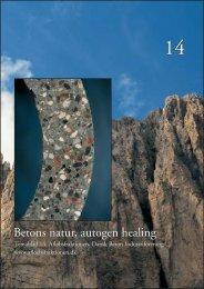 Betons natur - autogen healing - Dansk Beton