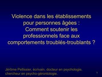 Violence banale ou pathologique - EDE