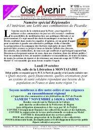 N° 1252 - Fédération de l'Oise - PCF