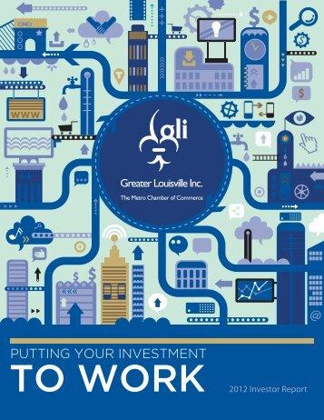 Investor Report - Greater Louisville Inc