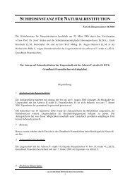 Entscheidung Nr. 86/2006 - Nationalfonds