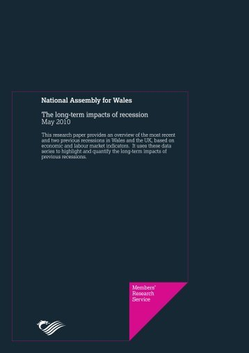 The long-term impacts of recession - National Assembly for Wales