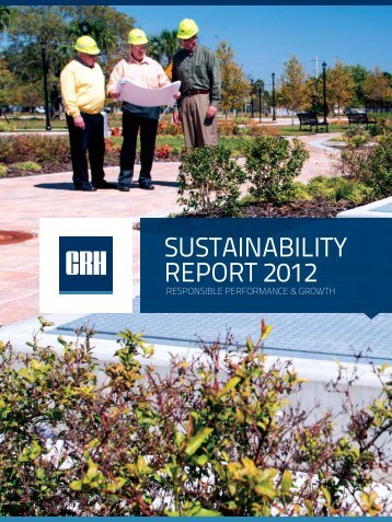 3925 Sustainability Report 2012 F.indd - CRH