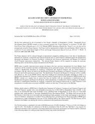 Invitation Notice for Bhairab 50 MW-IPP HFO Fired Power ... - BPDB