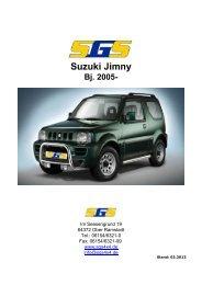 Jimny Typ FJ ab Bj. 2005 - SGS