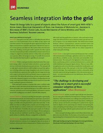 Seamless integration into the grid - TELUS International
