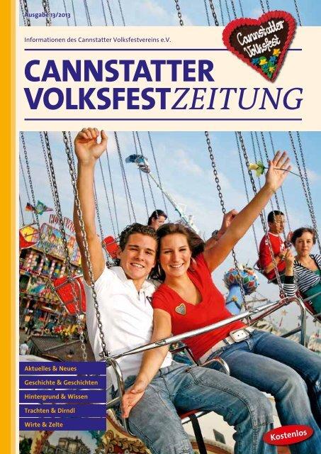 Ausgabe 2013 - Cannstatter Wasen