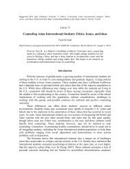 Counseling Asian International Students - Counselingoutfitters.com