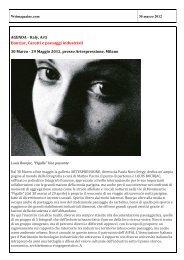 Articolo su wsimagazine.com - Artespressione