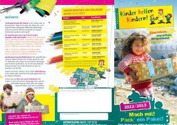 spende - Kinder helfen Kindern