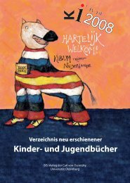 Verzeichnis neu erschienener Kinder - KIBUM Oldenburg