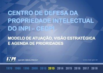 centro de defesa da propriedade intelectual do inpi – cedpi