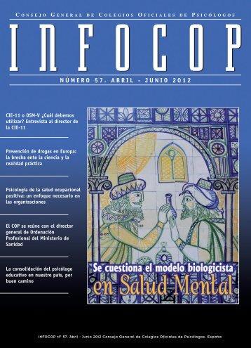 NÚMERO 57. ABRIL - JUNIO 2012 - Consejo General de Colegios ...