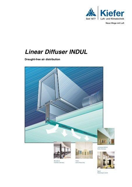 Linear Diffuser INDUL