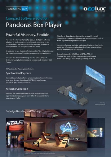 pandoras box player