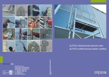visoki delovni oder (pdf - 2,63 MB) - Alpos Alu