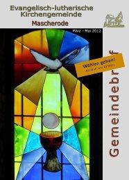 März 2012-Mai 2012 - Kirche Mascherode