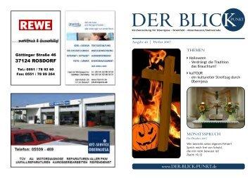 der Blickpunkt Ausgabe 40 Herbst 2007 - Ev.-luth ...