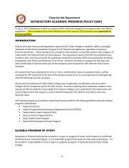 SAP Policy Guidelines - Victor Valley College