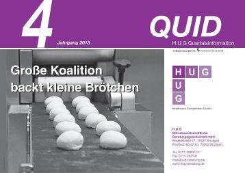 Quartalsinformation Nr. 4 Jahrgang 2013 - H.U.G ...