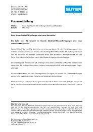 Pressemitteilung_Ice Design_d - Suter Inox AG