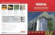 Commercial Products Overview Brochure - TLP Insulation