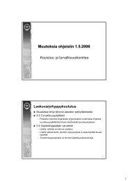 Muutoksia ohjeisiin 1.5.2006 - Suomen Ilmailuliitto