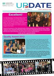 Issue 46 - December 2012 - Southern Health and Social Care Trust