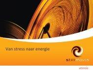 Van stress naar energie (PDF, 2.1 MB) - Fedweb