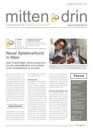 Ausgabe 2/04 - Vinzenz Gruppe