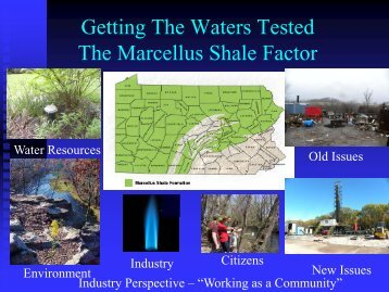 Getting the Waters Tested - Center for Environmental Quality, Wilkes ...