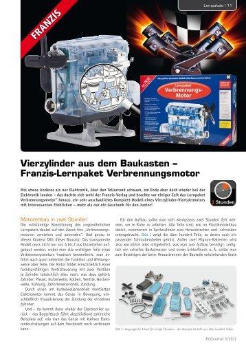Franzis-Lernpaket Verbrennungsmotor - ELV