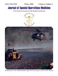 Winter 06 Vol 6 Ed 1 - United States Special Operations Command