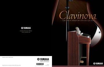 Yamaha Clavinova Serie