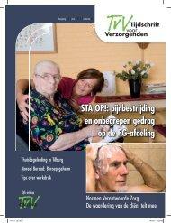 STA OP!: pijnbestrijding en onbegrepen gedrag op de PG-afdeling