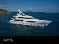 Motor Yacht Katya - Paradise Yacht Charters