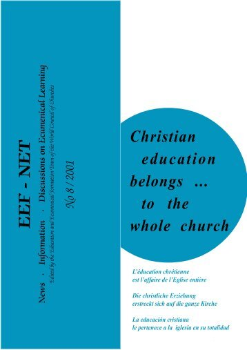 EEF-Net#8 - World Council of Churches