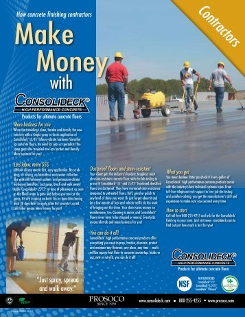 Consolideck Contractor Flyer