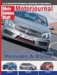 Motorjournal 2012. - Mein kleines Blatt