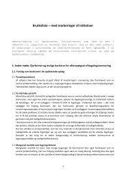Bruttoliste – med markeringer af initiativer - Ejendomsviden