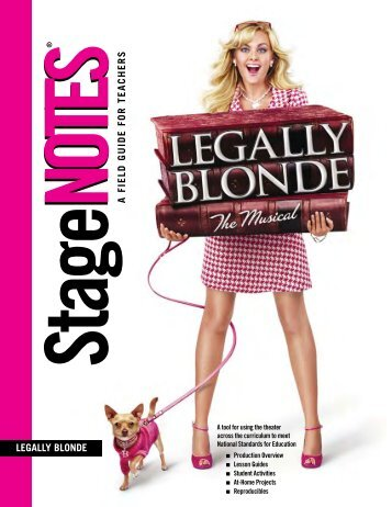 """In """"Legally Blonde"""" - Hershey Theatre"""